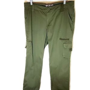 Dickies cargo pants olive green size 36